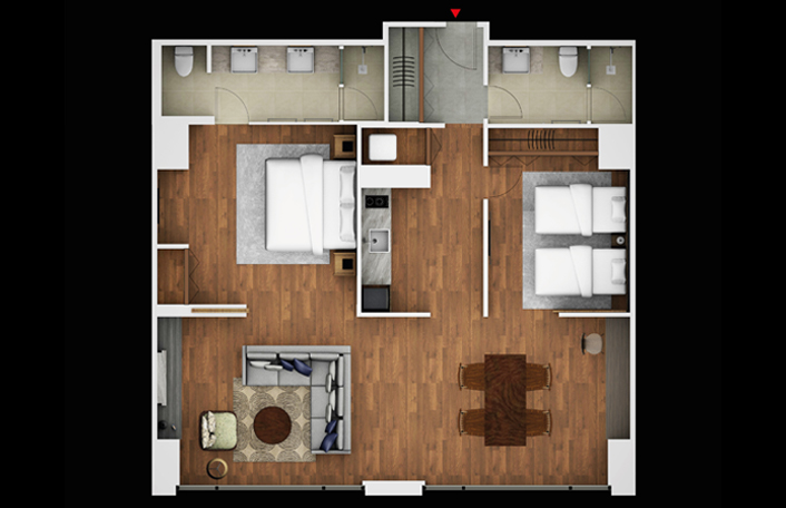 2 Bedroom Superior Residence