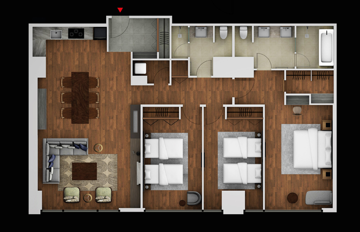 3 Bedroom Superior Residence