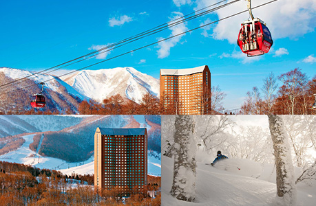 ONE OF THE WORLD'S TOP SNOW RESORTS