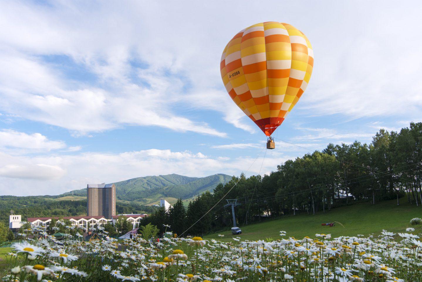 熱気球フライト体験