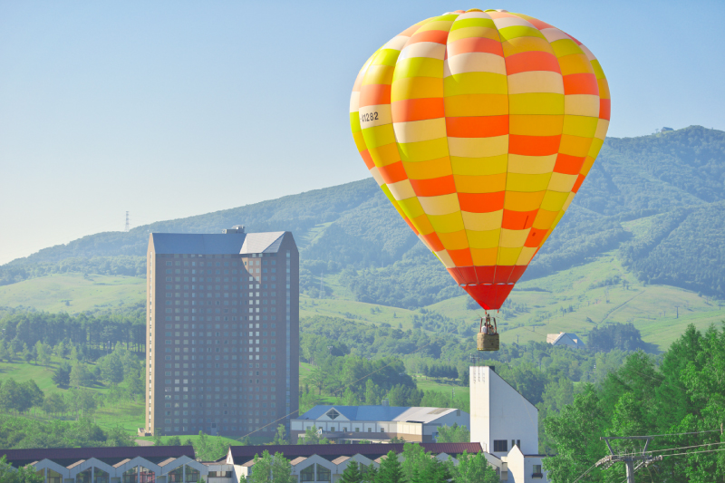 熱気球フライト体験 (係留)