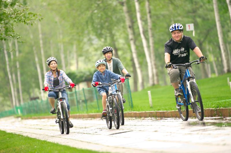 マウンテンバイクサイクリング