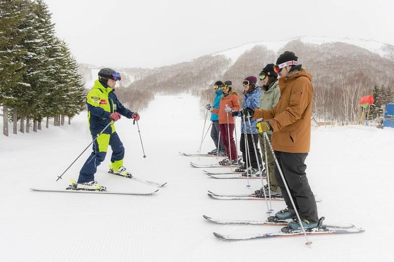 レベル別スキーレッスン
