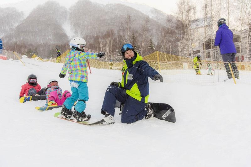 レベル別スノーボードレッスン