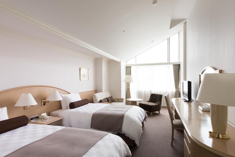 客室例2 (階層、宿泊棟により内装が異なります)