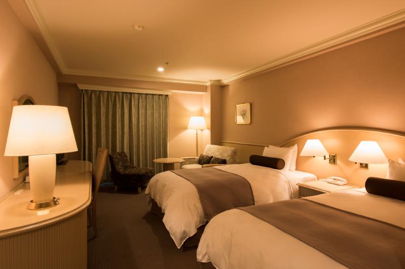客室例1 (階層、宿泊棟により内装が異なります)