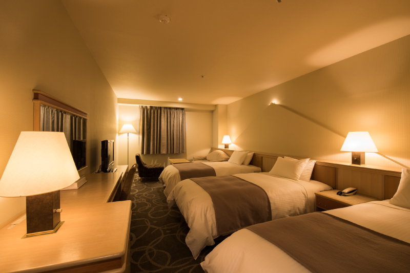 Guest room example 4 (the interior differs depending on the floor and building)