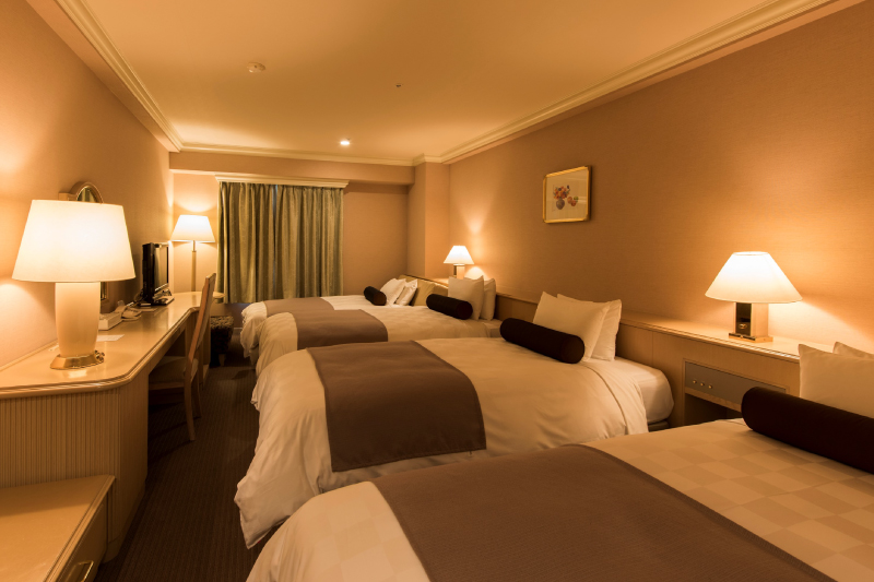 Standard-type guest room of 33㎡ at Rusutsu Resort Hotel & Convention