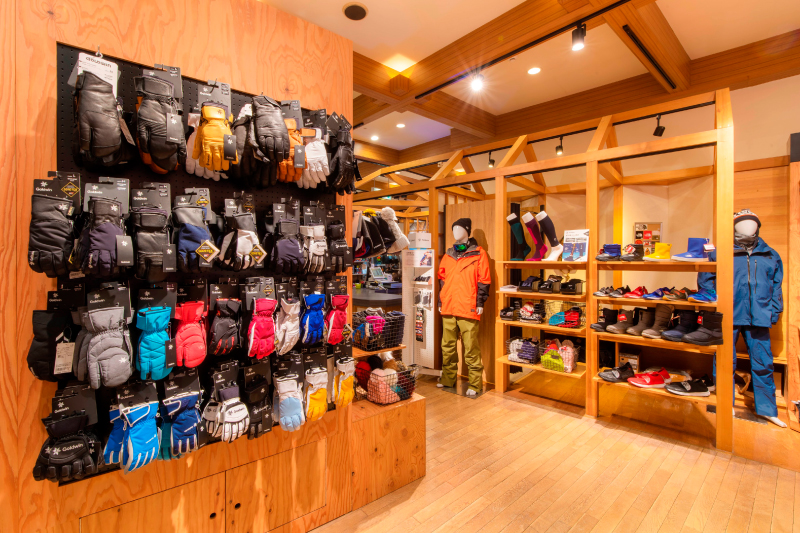 A rich lineup of products for everyone from kids to adults to enjoy summer/winter at the resort