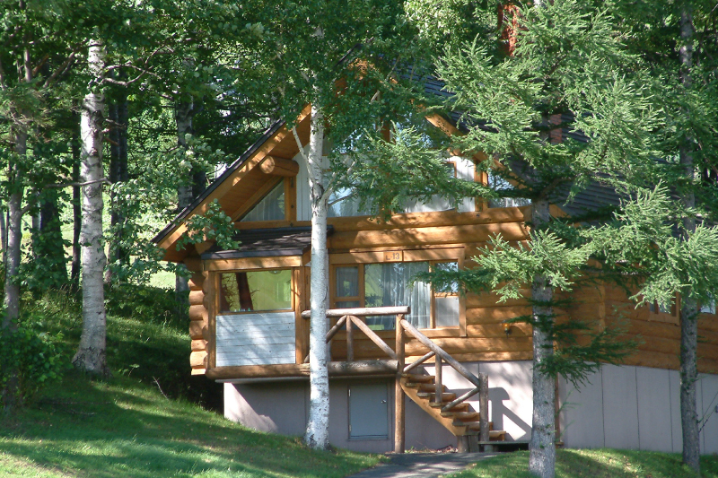 A log house, perched up on the slope. Have an extraordinary stay in a room with a cozy fireplace