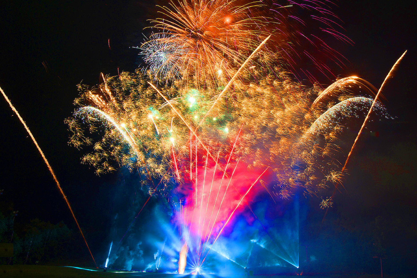 Summer Vacation Special Fireworks Festival