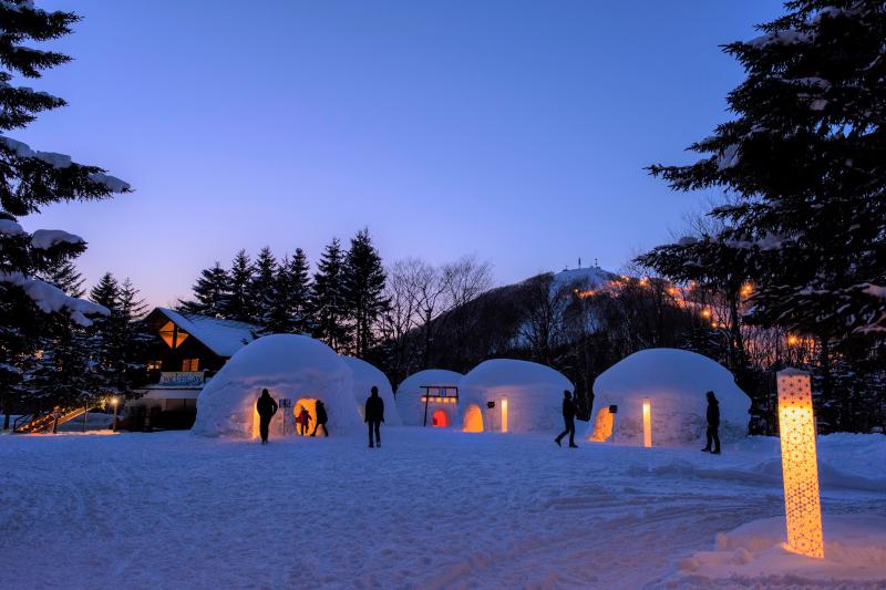 アフタースキーを楽しむ新スポット「Wa!KAMAKURA Bar -Japanese Igloo-」オープン!