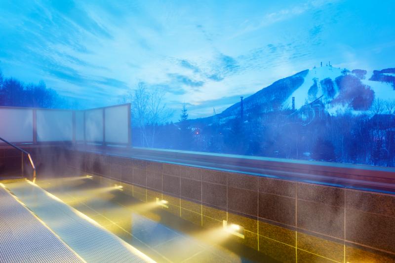 ウェスティンルスツ温泉の露天風呂