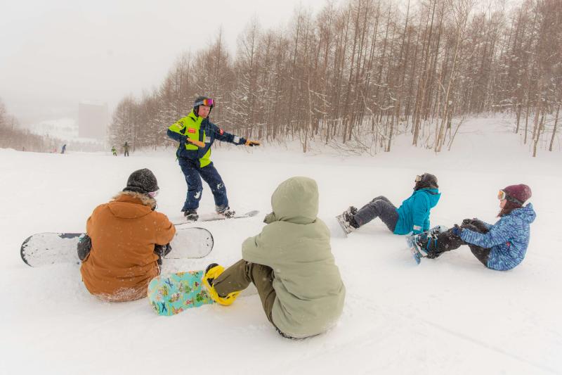 Private Family Snowboard Lesson