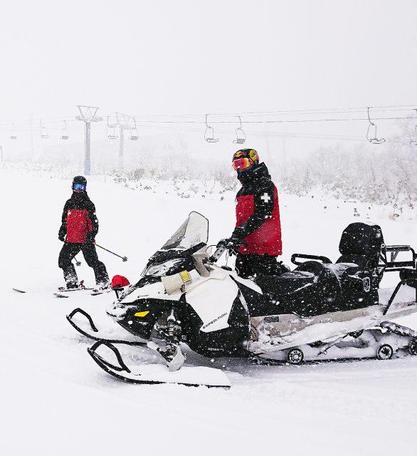 スキーパトロール講習会