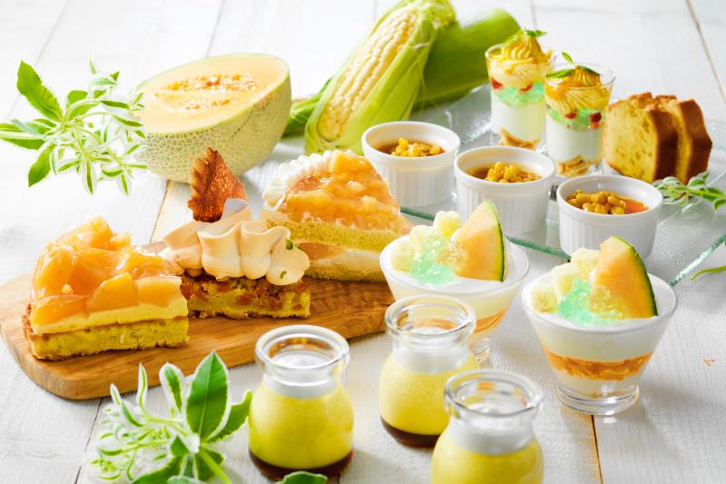 北海道産メロンが食べ頃!8月はメロンデザートプロモーションを開催