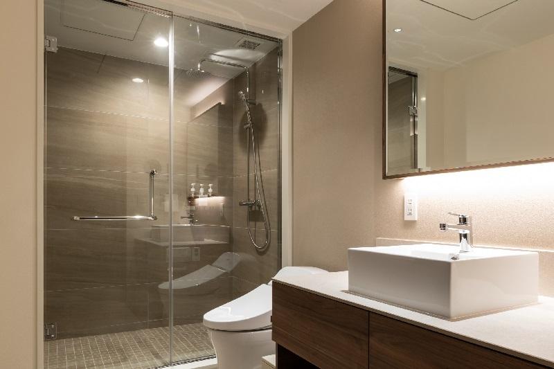 シャワールームも2つ完備
