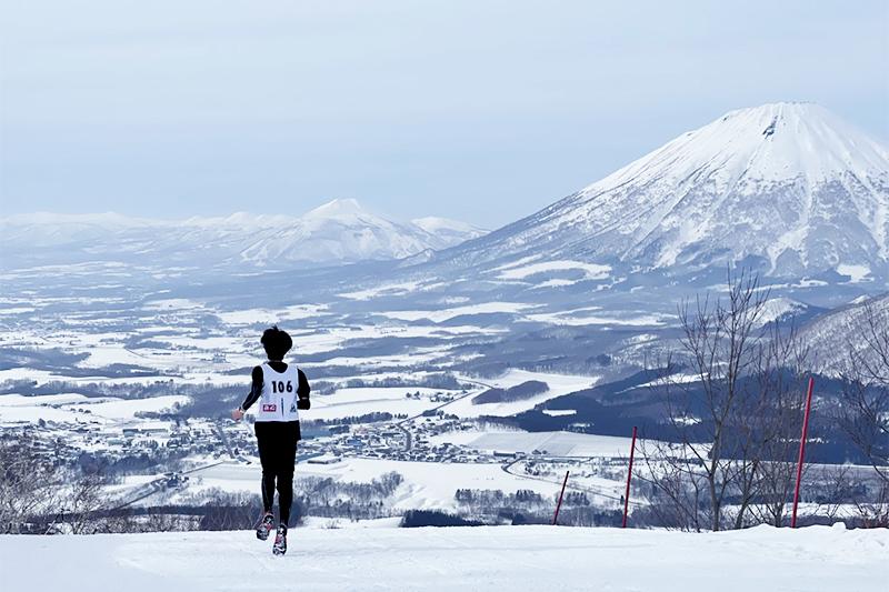 [イベントレポート] 雪上ランニングイベント「スノートレイルラン 2021 in ルスツ」