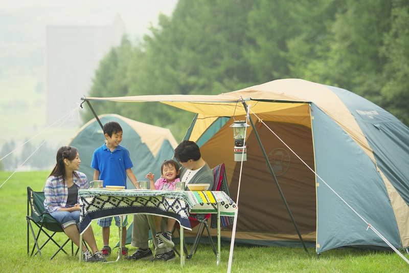 遊園地も遊べる⁉ ルスツでお得なキャンプを楽しもう!