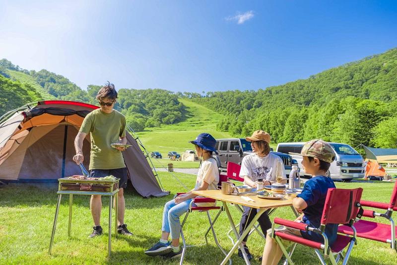 ルスツ山はともだちキャンプ場