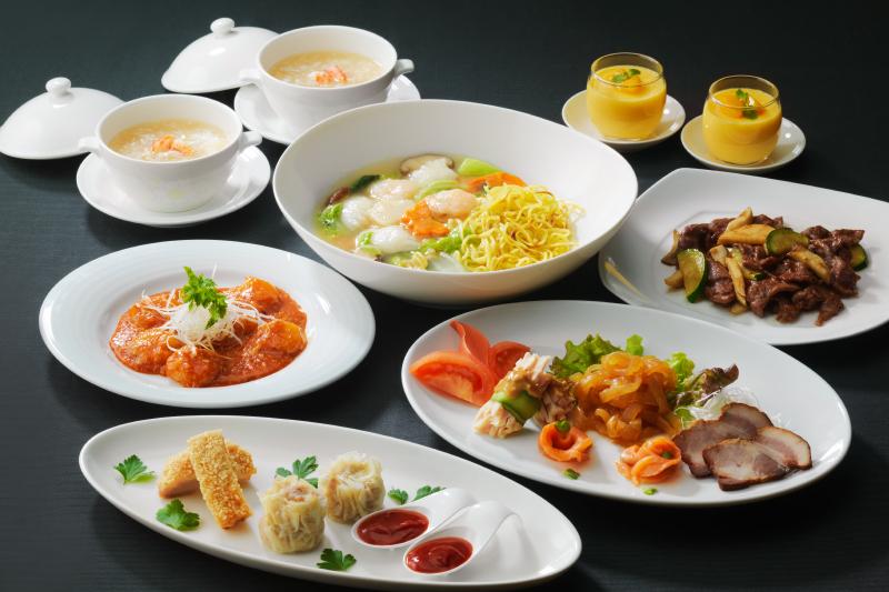 四川料理をベースに上海スタイルも取り入れたコース料理