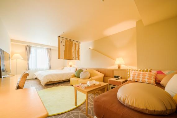 客室例 (色やデザインが異なる場合がございます)