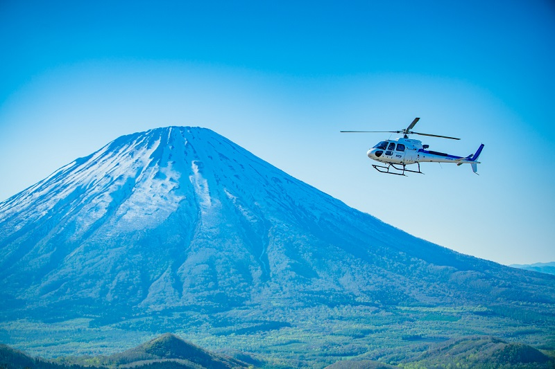Limited Offer!  Stay at Rusutsu Resort 2+ consecutive nights and receive a free scenic helicopter flight.