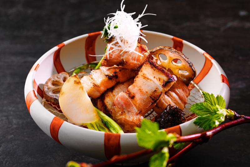 ルスツ高原豚の塩麴焼き