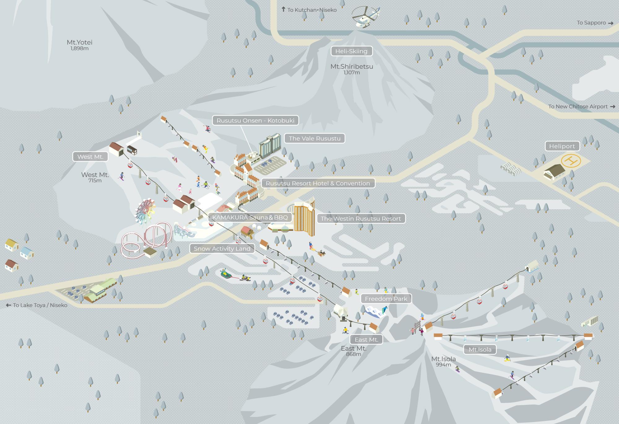 WINTER VILLAGE MAP
