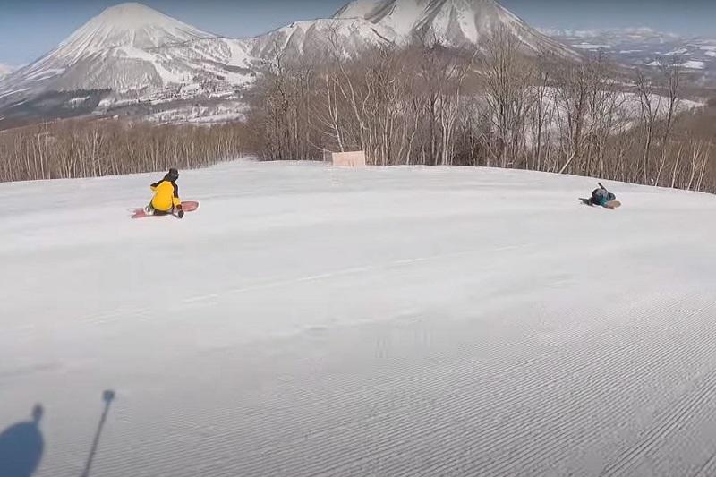 [動画] YouTubeチャンネル「S-LOG」Waji & Rei Spring Snow Surf in Rusutsu