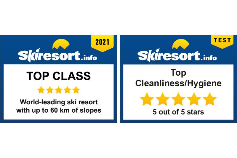 "Rusutsu has been chosen as a Test Winner 2021 in the category ""Top class: World-leading ski resorts by the prestigious website 'Skiresort.info'"