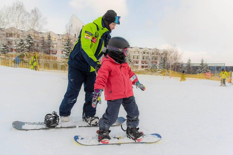 プライベートスノーボードレッスン