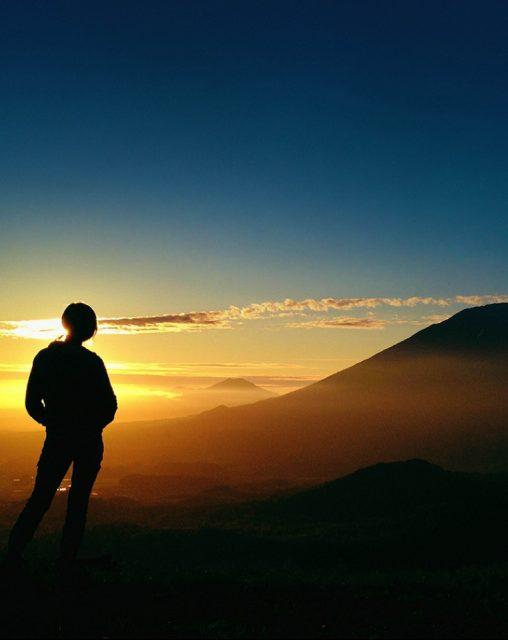 夕陽トレッキング