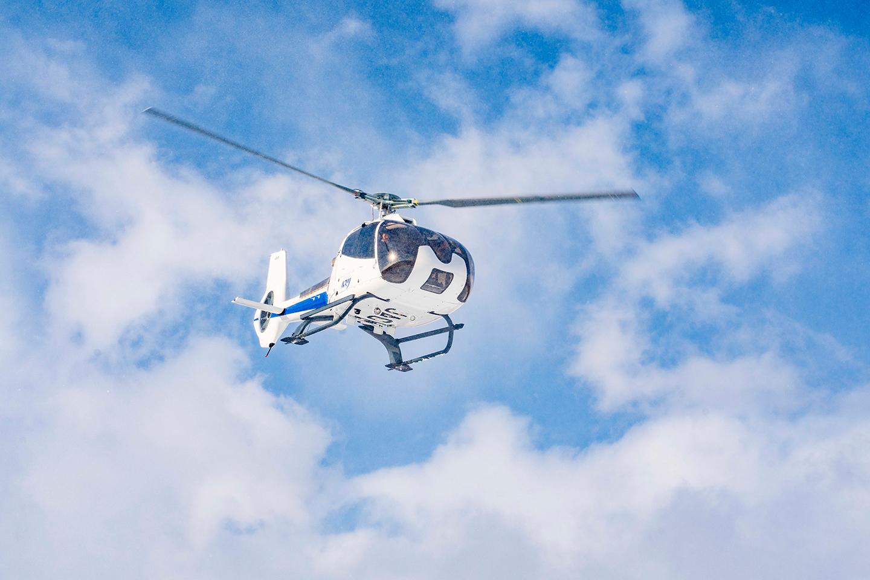 ヘリコプター遊覧飛行 (ウィンターシーズン)